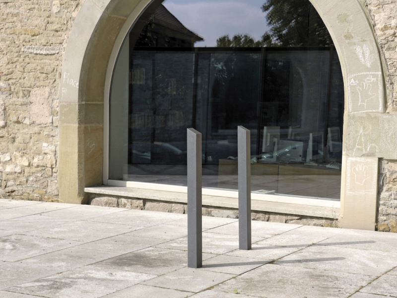 Protection bollard / for public areas