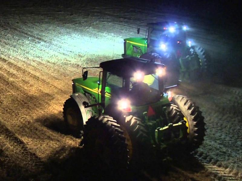 traktorite töötuled
