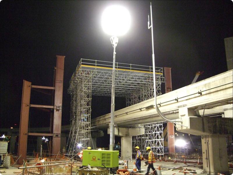 valguspall ehitustöödel